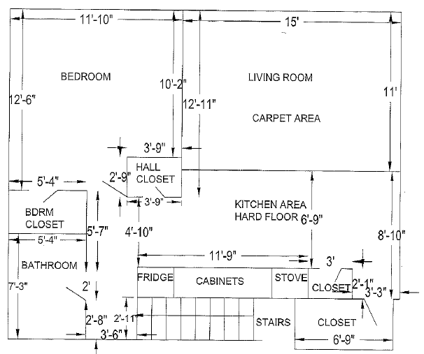 Floor Plan - Second Level
